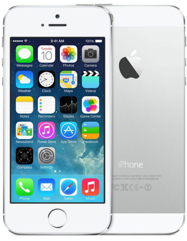 Apple iPhone 5S 64GB White Silver...